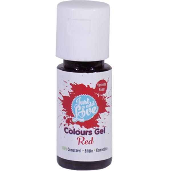 Corante em Gel Vermelho, 25 ml