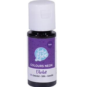 Corante em Gel Violeta Neon, 25 ml
