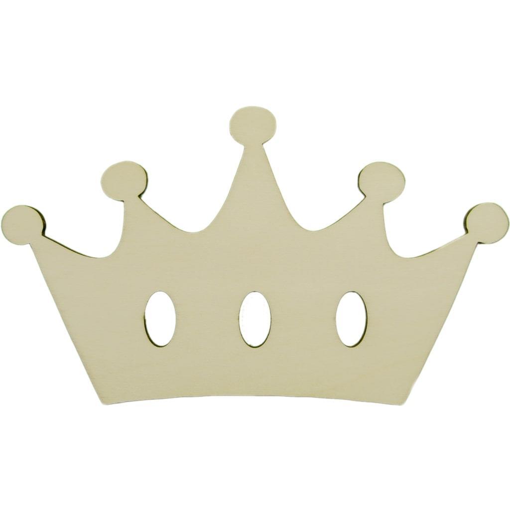 Coroa Decorativa em Madeira