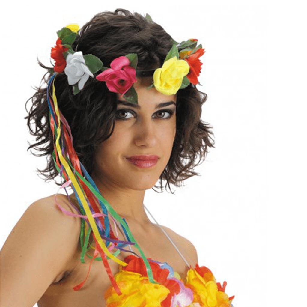 Coroa Flores Multicor