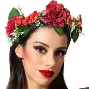 Coroa Flores Vermelhas