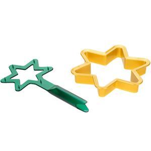 Cortador Estrela de Natal com Suporte, Tescoma