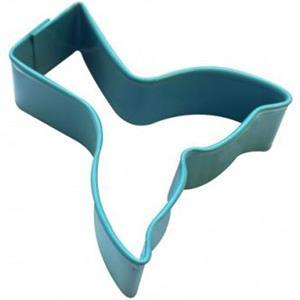 Cortador para Bolachas Cauda de Sereia, 9 cm