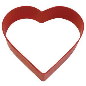 Cortador para Bolachas Forma Coração, 8 cm