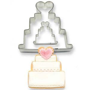 Cortadores Bolo de Casamento, 2 unid.