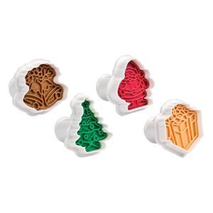 Cortadores Natal com Ejetor, Tescoma, 4 unid.