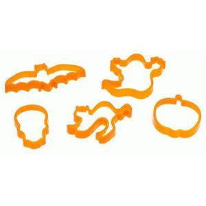 Cortadores para Bolacha de Halloween, 5 unid.