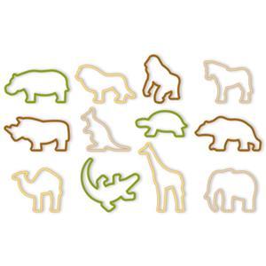 Cortadores para Bolachas Animais Zoo, Tescoma, 12 unid.