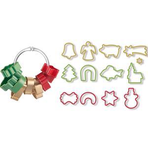 Cortadores para Bolachas Figuras de Natal, Tescoma, 13 unid.