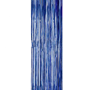 Cortina Azul Metalizada 90*250cm