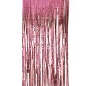 Cortina Rosa Brilhante, 200 x 100 cm