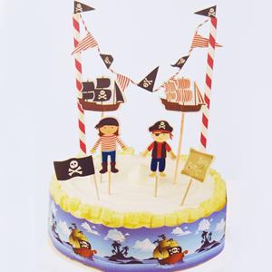 Decoração Bolos Piratas