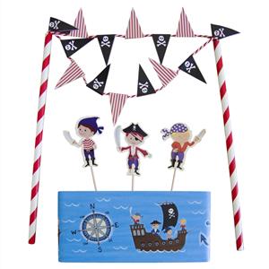 Decoração Bolos Pirata