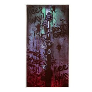 Decoração de Porta Zombies, 152 x 76 Cms