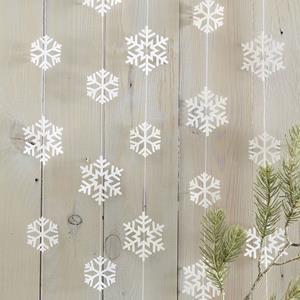 Decoração Suspensa Flocos de Neve