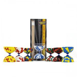 Diabolo Jester com Sticks de Madeira