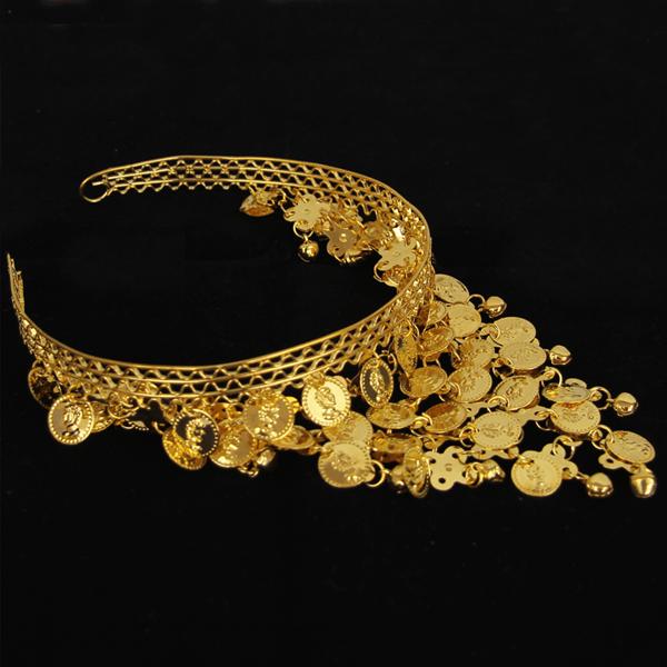 Diadema Odalisca Dourado