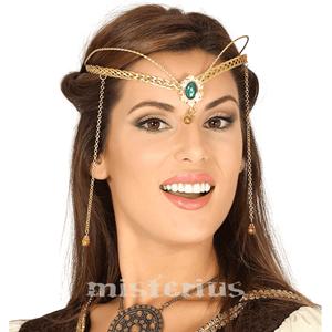 Diadema Princesa Dourado