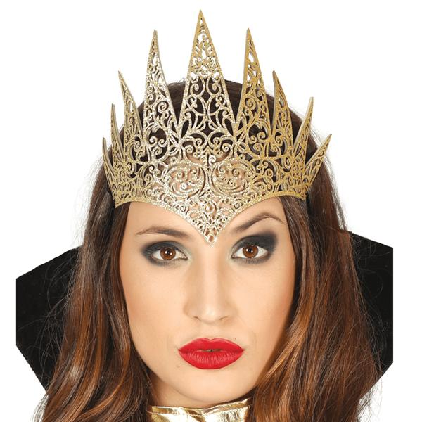 Diadema Rainha Dourado