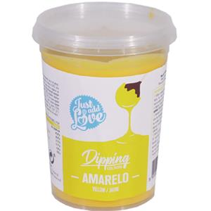 Dipping Chocolate Amarelo, 200 gr.