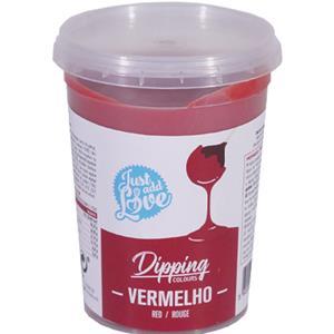 Dipping Chocolate Vermelho, 200 gr.