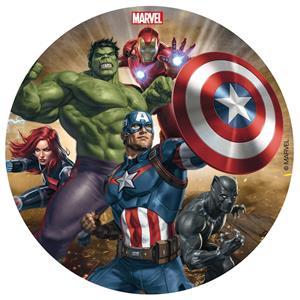 Disco Comestível Avengers, 16 cm