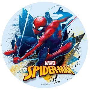 Disco Comestível Spiderman, 16 cm