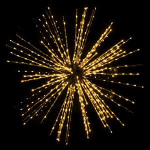 Efeito Fogo Artificio Led Intermitente Branco Quente, 100 Cm