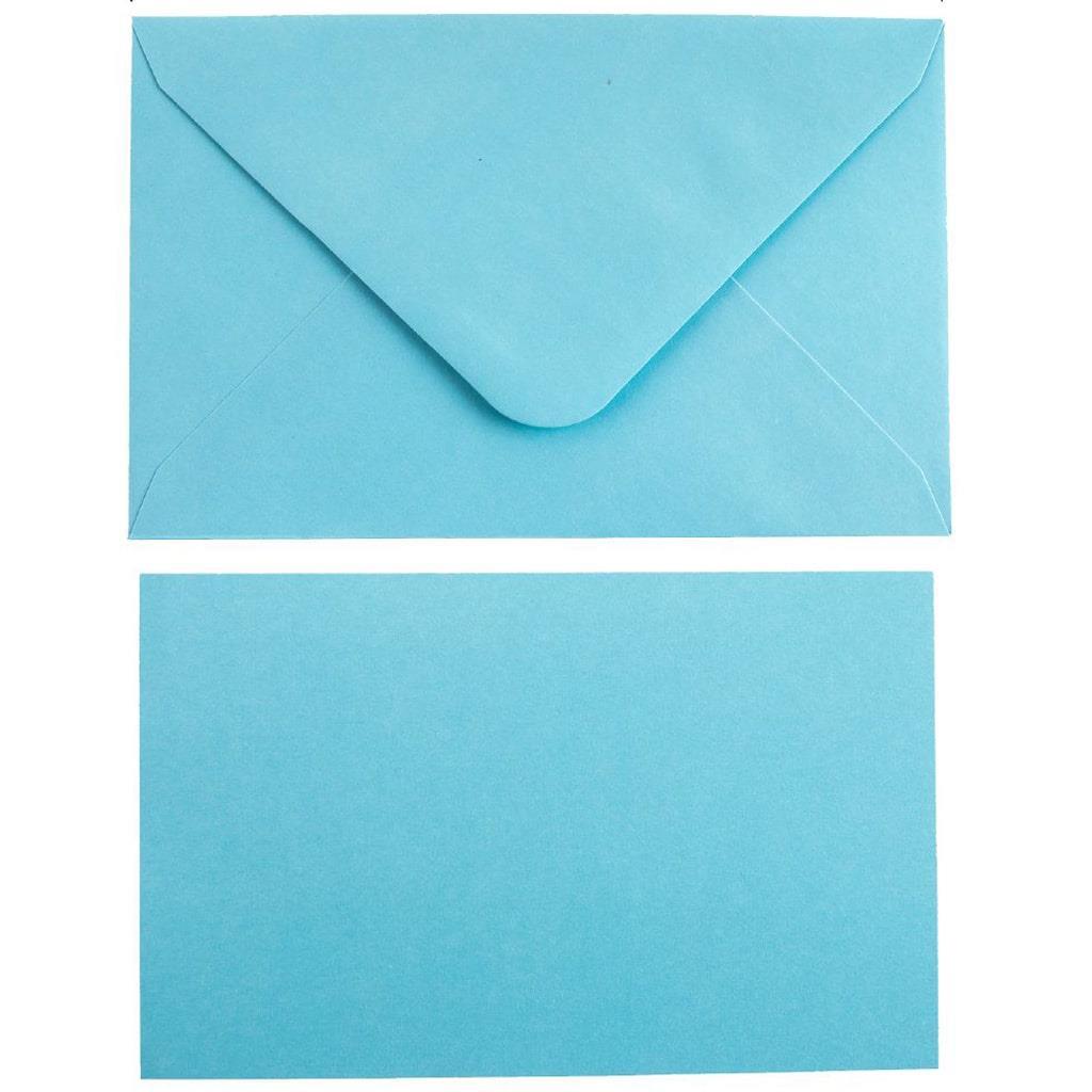 Envelopes Azuis, 10 unid.