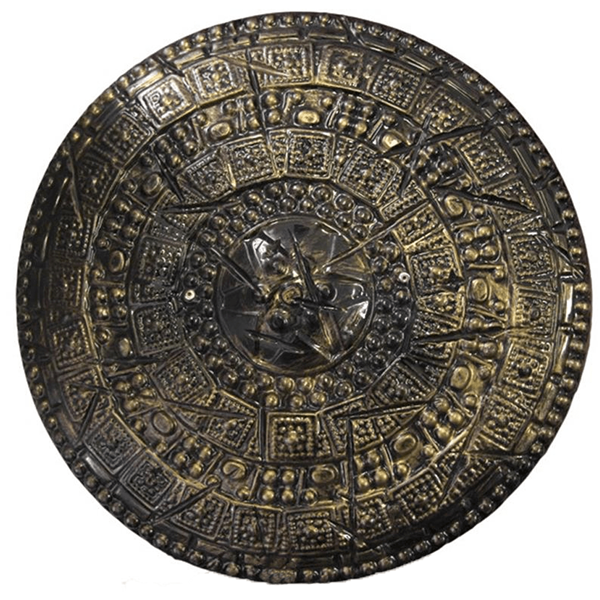 escudo castanho