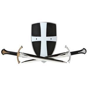 Espadas e Escudo Cruzados