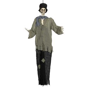 Esqueleto Coveiro com Luz, Movimento e Som