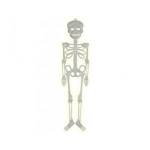 Esqueleto Plástico Fosforescente 75cm
