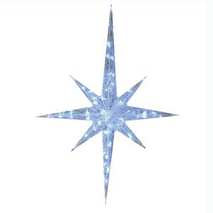 Estrela com Pontas Led Branco