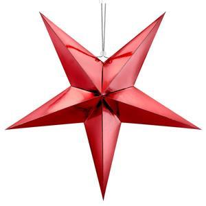 Estrela Decorativa Vermelha, 70 cm