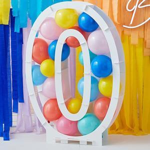 Estrutura Número 0 para Balões