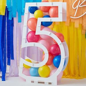 Estrutura Número 5 para Balões