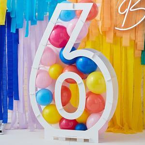 Estrutura Número 6 para Balões