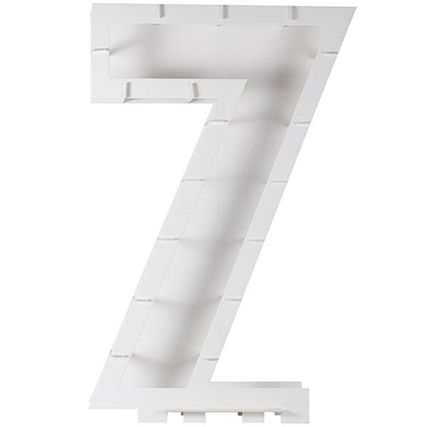 Estrutura Número 7 para Balões