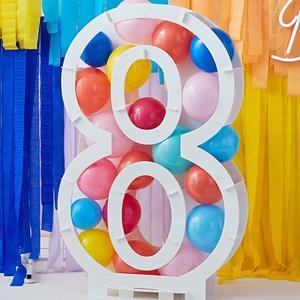 Estrutura Número 8 para Balões