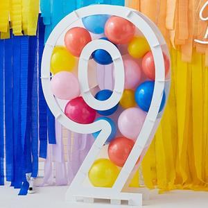 Estrutura Número 9 para Balões
