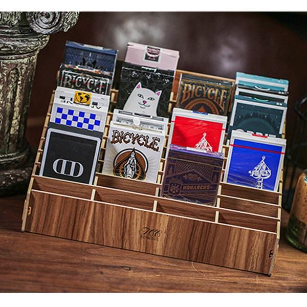 Expositor Madeira 40 Baralhos de Cartas