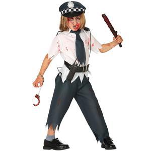 Fato Agente da Polícia Zombie, Criança