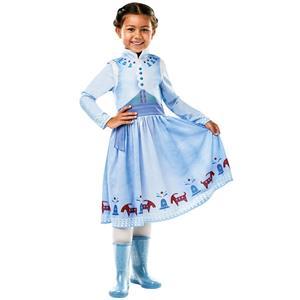 Fato Anna Deluxe Frozen, Criança