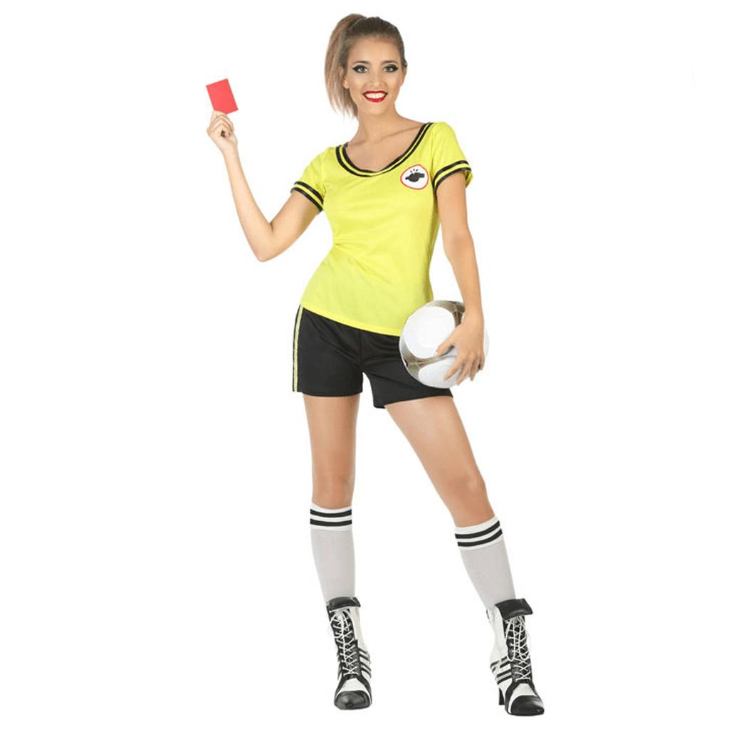 Fato Árbitra Futebol, Mulher
