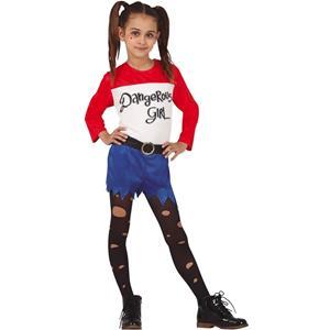 Fato Arlequina Dangerous Girl, Criança