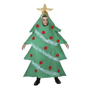 Fato Árvore Natal, criança