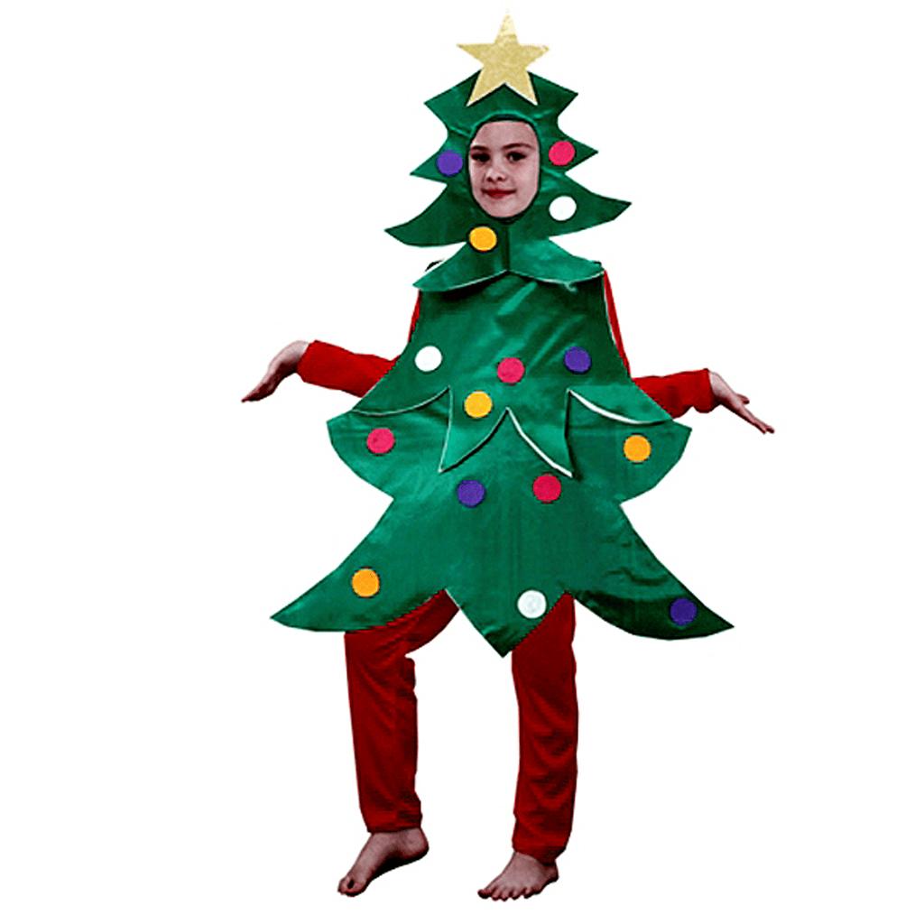 Fato Arvore Natal de Criança