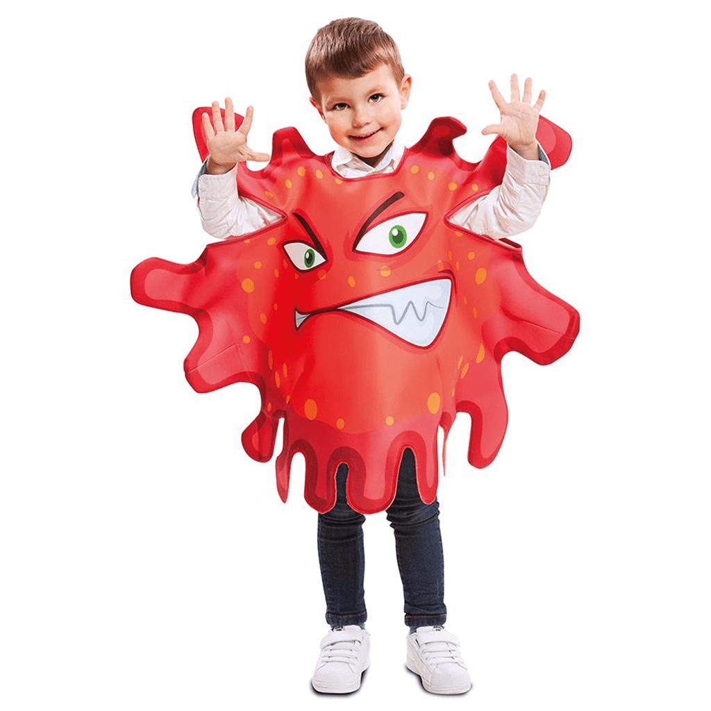 Fato Bactéria Vermelha, Criança
