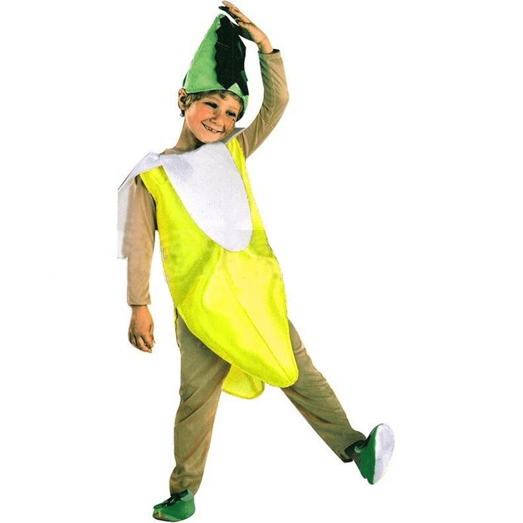 Fato Banana, criança